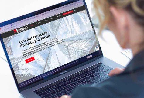 Un nuovo website per Proevo S.r.l.